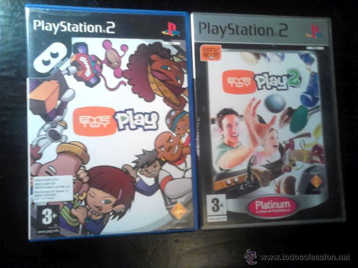 EYETOY : PLAY 1 Y 2 - LOTE PACK 2 DISCOS - PLAYSTATION 2 (Juguetes - Videojuegos y Consolas - Sony - PS2)