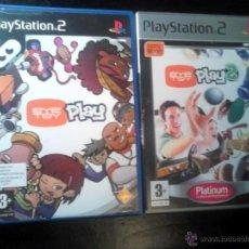 Videojuegos y Consolas: EYETOY : PLAY 1 Y 2 - LOTE PACK 2 DISCOS - PLAYSTATION 2. Lote 46729389