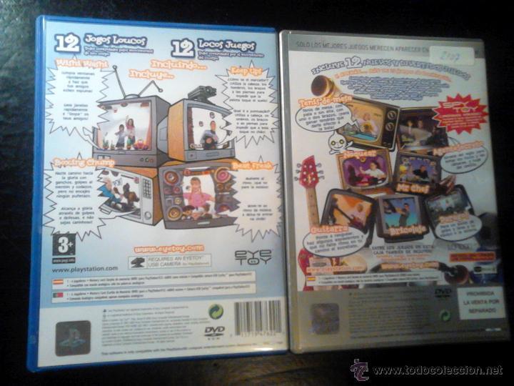 Videojuegos y Consolas: EYETOY : PLAY 1 Y 2 - LOTE PACK 2 DISCOS - PLAYSTATION 2 - Foto 2 - 46729389
