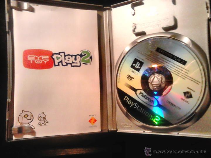 Videojuegos y Consolas: EYETOY : PLAY 1 Y 2 - LOTE PACK 2 DISCOS - PLAYSTATION 2 - Foto 3 - 46729389