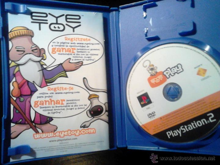 Videojuegos y Consolas: EYETOY : PLAY 1 Y 2 - LOTE PACK 2 DISCOS - PLAYSTATION 2 - Foto 4 - 46729389