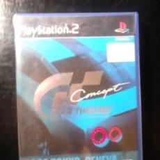 Videojuegos y Consolas: GRAN TURISMO CONCEPT 2002 TOKYO-GENEVA - SOLO ESTUCHE Y CARATULA - PLAYSTATION 2. Lote 177247808