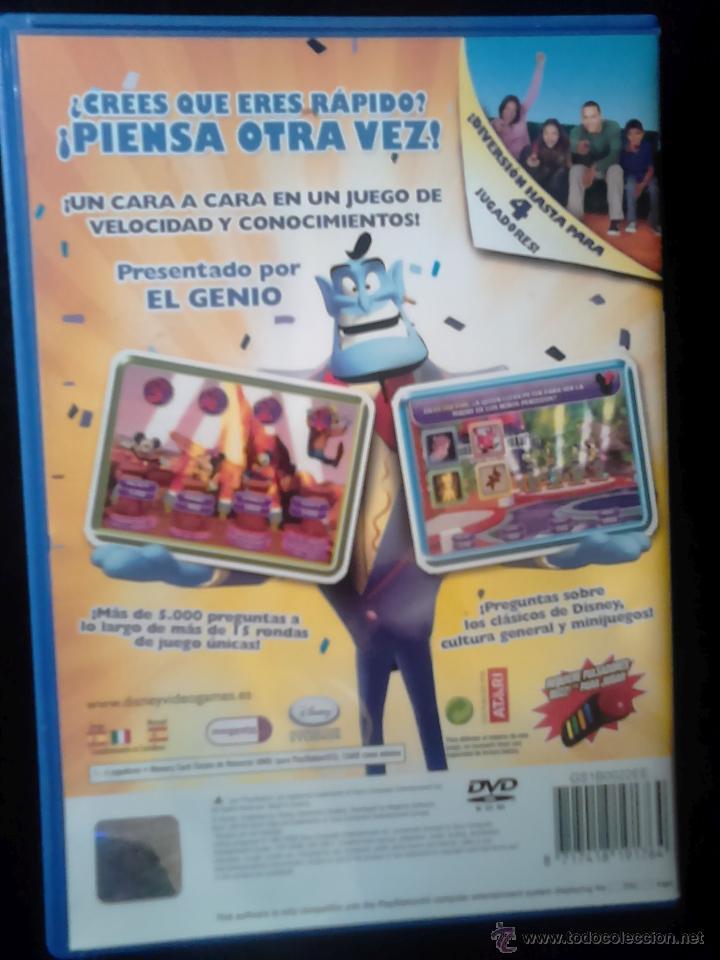 Videojuegos y Consolas: DISNEY TH!NK FAST - PLAYSTATION 2 - Disney Think Fast - JUEGO PARA PULSADORES BUZZ - Foto 2 - 46729948