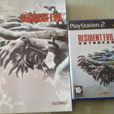Videojuegos y Consolas: LOTE RESIDENT EVIL OUTBREAK + GUIA OFICIAL. Lote 47068588