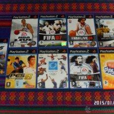 Videojuegos y Consolas: NBA LIVE 2005 08 F1 FÓRMULA 1 05 FIFA 07 08 PES 6 ATHENS 2004 ESTO ES FÚTBOL 2004 EYE TOY PLAY 3..... Lote 47359018