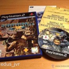 Videojuegos y Consolas: SOCOM II: U.S. NAVY SEALS US JUEGO PARA PLAYSTATION PLAY STATION 2 PS2 PAL ESP ESPAÑA. Lote 47479065
