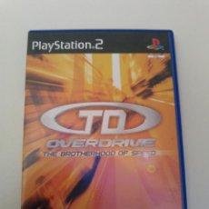 Videojuegos y Consolas: TD OVERDRIVE -THE BROTHERHOOD OF SPEED-ATARI -PAL. Lote 47821010
