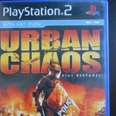 Jeux Vidéo et Consoles: PS2 URBAN CHAOS - RIOT RESPONSE - EN INGLÉS - PLAYSTATION 2 (5A). Lote 47910732