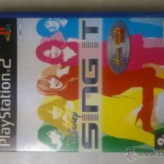 Videojuegos y Consolas: DISNEY SING IT PARA PLAYSTATION 2 PS2 EN ESPANOL. Lote 47921528