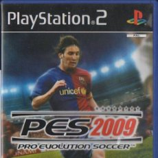Videojogos e Consolas: PLAY STATION 2. PES 2009. PRO EVOLUTION SOCCER 2009. VIDJUEG-057. Lote 57744670