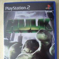 Videojuegos y Consolas: PS2. HULK, ORIGINAL. LUCHA COMO EL GIGANTE VERDE. . POSIBILIDAD DE LOTES.. Lote 27117806