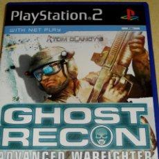 Videojuegos y Consolas: PS2 GHOST RECON ADVANCED WARFIGHTER ORIGINAL. . POSIBILIDAD DE LOTES.. Lote 27117807