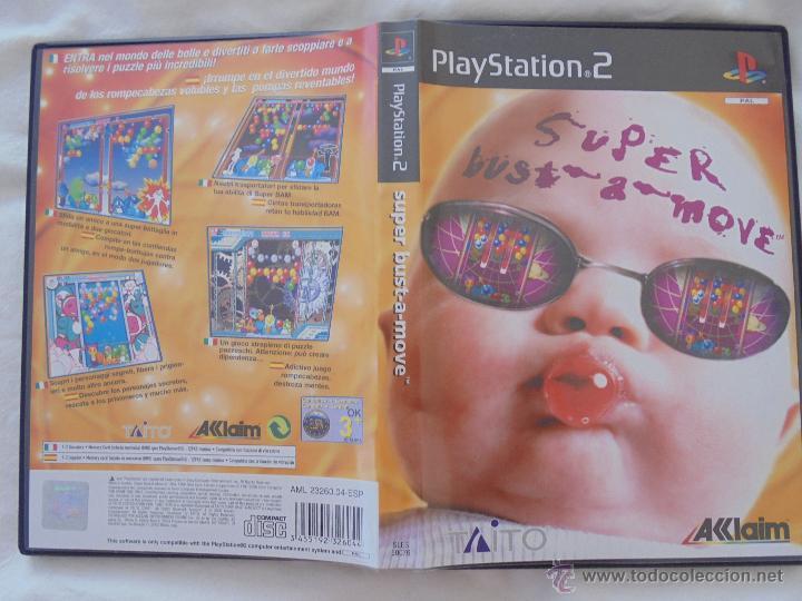 SUPER BUST A MOVE VIDEOJUEGO PS2 ESPAÑA PAL ORIGINAL (Juguetes - Videojuegos y Consolas - Sony - PS2)