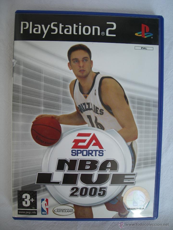 NBA LIVE 2005 - JUEGO PS2 (PLAYSTATION 2) - BALONCESTO (Juguetes - Videojuegos y Consolas - Sony - PS2)