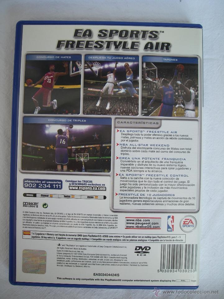 Videojuegos y Consolas: NBA LIVE 2005 - JUEGO PS2 (PLAYSTATION 2) - BALONCESTO - Foto 2 - 49838657