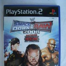 Videojuegos y Consolas: SMACK DOWN & RAW - JUEGO PS2 (PLAYSTATION 2) - COMBATE / LUCHA. Lote 49838674