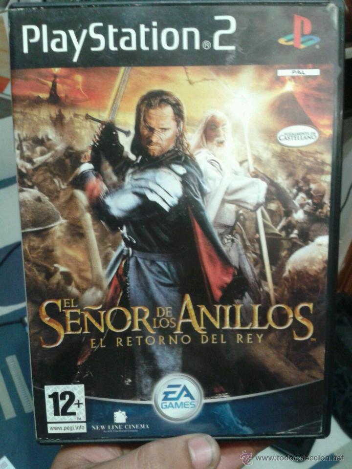 JUEGO EL SEÑOR DE LOS ANILLOS (EL RETORNO DEL REY) (Juguetes - Videojuegos y Consolas - Sony - PS2)
