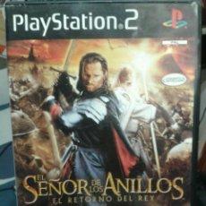 Videojuegos y Consolas: JUEGO EL SEÑOR DE LOS ANILLOS (EL RETORNO DEL REY). Lote 49861876