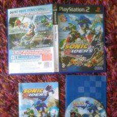 Videojuegos y Consolas: PS2 PLAY STATION 2 SONIC RIDERS PAL ** OFERTA **. Lote 49934085