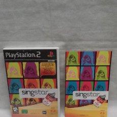 Videojuegos y Consolas: JUEGO PLAYSTATION 2 SINGSTAR - LO MEJOR DEL POP ESPAÑOL DE LOS 80 - CON CAJA E INSTRUCCIONES . Lote 53943823