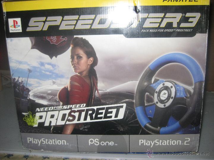 Videojuegos y Consolas: steedster 3 volante con pedales y juego pro-street - Foto 3 - 50112337