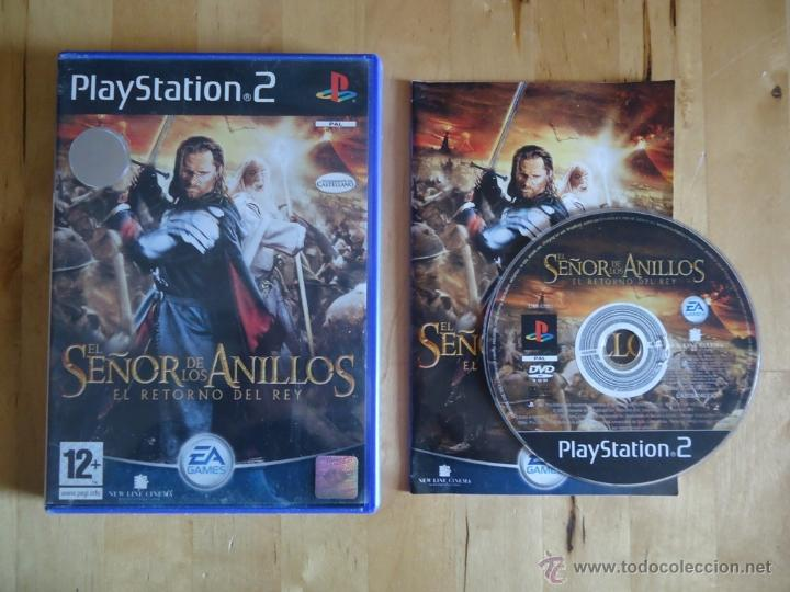 JUEGO SONY PLAYSTATION PS2 EL SEÑOR DE LOS ANILLOS EL RETORNO DEL REY ACCIÓN AVENTURA EA GAMES (Juguetes - Videojuegos y Consolas - Sony - PS2)
