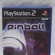 Videojuegos y Consolas: JUEGO PINBALL PARA PLAYSTATION 2 - EN CASTELLANO - CON SU CAJA . Lote 50462050