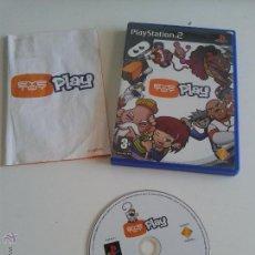 Videojuegos y Consolas: PLAYSTATION 2, EYETOY 1 Y 2. 1EN ENGLES 2 EN ESPANOL. Lote 50580985
