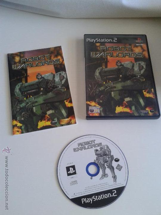 PLAYSTATION 2 ROBOT WARLORDS (Juguetes - Videojuegos y Consolas - Sony - PS2)