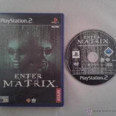 Videojuegos y Consolas: JUEGO PS2 ENTER THE MATRIX PLAY STATION 2 PAL R1133. Lote 50626849