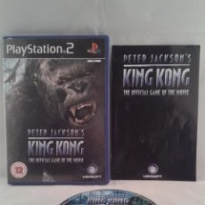 Videojuegos y Consolas: JUEGO PS2 PETER JACKSONS KING KONG GAME OFFICIAL GAME OF MOVIE PLAY STATION 2 PAL R1188. Lote 50633252