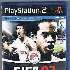 Videojuegos y Consolas: PS2 PLAYSTATION 2 FIFA 07 - COMPLETO. Lote 107983783