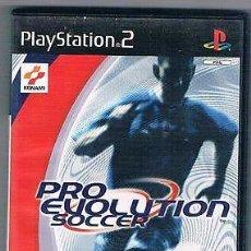 Videojuegos y Consolas: PS2 PLAYSTATION 2 PES PRO EVOLUTION SOCCER - COMPLETO. Lote 66956734
