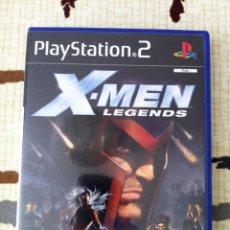 Videojuegos y Consolas: PS2. X-MEN LEGENDS. JUEGO ORIGINAL COMO NUEVO. CON MANUAL. EDICCIÓN ESPAÑOLA.. Lote 50695047