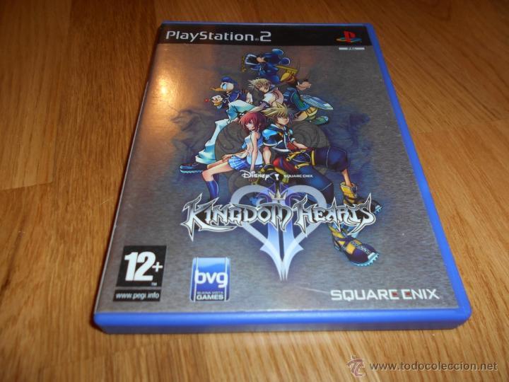 Juegos Play Station 2 Kingdom Hearts Parte Dos Comprar Videojuegos