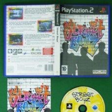 Videojuegos y Consolas: STREET BOYZ -PLAYSTATION 2 VIDEOJUEGO. Lote 58466224