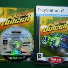 Videojuegos y Consolas: JUICED - PLAYSTATION 2- VIDEO JUEGO. Lote 50876333
