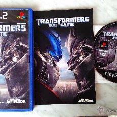 Videojuegos y Consolas: TRANSFORMERS JUEGO PLAY STATION 2 PS2 PLAYSTATION. Lote 51102800