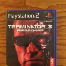 Videojuegos y Consolas: TERMINATOR 3 RISE OF THE MACHINES PS2 - PLAYSTATION 2 - VIDEOJUEGO - SONY. Lote 51109045