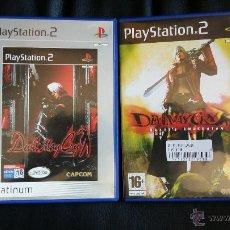 Videojuegos y Consolas: LOTE DE 2 JUEGOS DE PLAY STATION 2 PS2: DEVIL MAY CRY + DEVIL MAY CRY 3. Lote 51113656