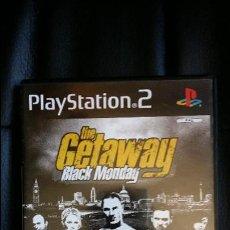 Videojuegos y Consolas: JUEGO DE PLAY STATION 2 PS2: THE GETAWAY BLACK MONDAY. Lote 51114122