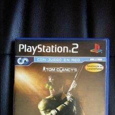 Videojuegos y Consolas: JUEGO DE PLAY STATION 2 PS2: SPLINTER CELL: PANDORA TOMORROW. Lote 51114151