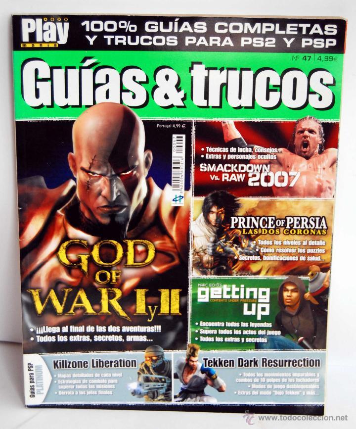 PLAY MANIA GUIAS & TRUCOS NUME 47 PLAYMANIA GUIAS Y TRUCOS (Juguetes - Videojuegos y Consolas - Sony - PS2)