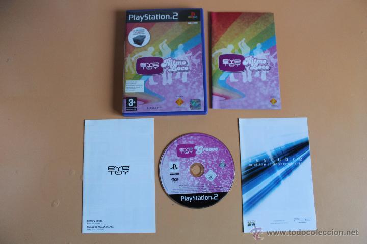 EYE TOY RITMO LOCO PLAYSTATION 2 PS2 (Juguetes - Videojuegos y Consolas - Sony - PS2)