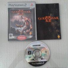 Videojuegos y Consolas: JUEGO PS2 GOD OF WAR PAL ESPAÑA COMPLETO PLAYSTATION 2. Lote 51501797