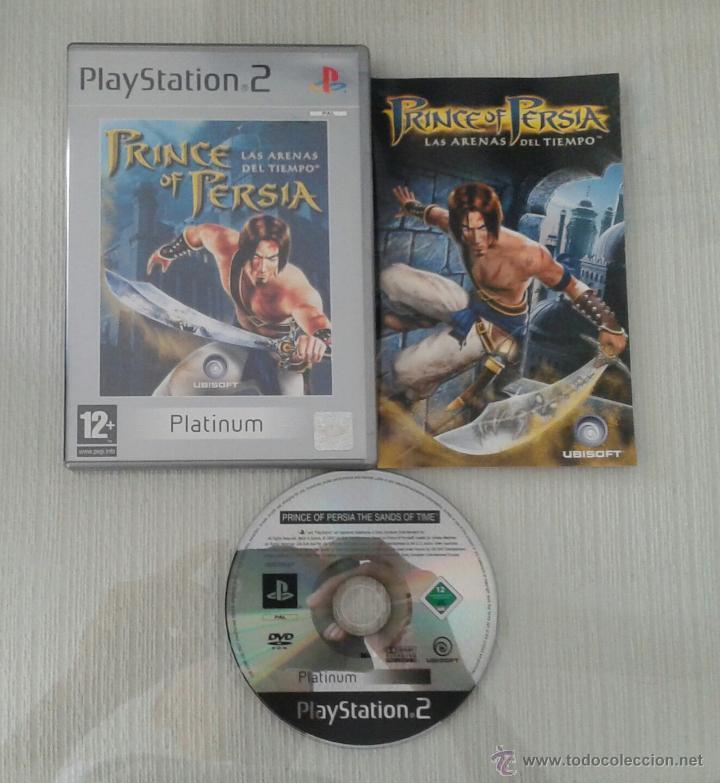 JUEGO PS2 PRINCE OF PERSIA LAS ARENAS DEL TIEMPO PAL ESPAÑA COMPLETO PLAYSTATION 2 (Juguetes - Videojuegos y Consolas - Sony - PS2)