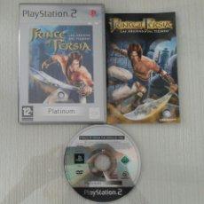 Videojuegos y Consolas: JUEGO PS2 PRINCE OF PERSIA LAS ARENAS DEL TIEMPO PAL ESPAÑA COMPLETO PLAYSTATION 2. Lote 51502462
