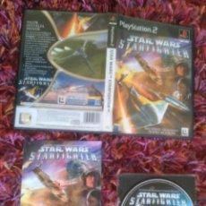 Videogiochi e Consoli: PS2 PLAY STATION 2 STAR WARS STARFIGHTER PAL ESP SEMINUEVO. Lote 51564440