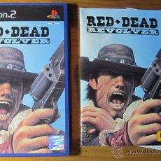 Videojuegos y Consolas: RED DEAD REVOLVER PS2 PAL ESPAÑA COMPLETO. Lote 51780718
