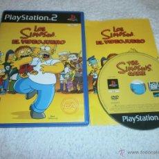 Videojuegos y Consolas: SIMPSONS EL VIDEOJUEGO PLAYSTATION 2 PAL ESPAÑA COMPLETO. Lote 51942051